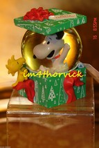 Hallmark 2012 The Gift Of Friendship Snoopy & Woodstock Water Globe - $99.99