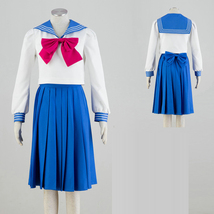 Sailor Moon Serena Tsukino Cosplay Costume Sailor Suit School Uniform - $72.03