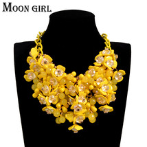 Bohemia Maxi Flower Choker Necklace Sping Fashion Boho Jewelry Display B... - $15.18