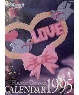 1995 TNS Plastic Canvas Calendar PATTERN/INSTRUCTIONS 12 Designs - $2.67