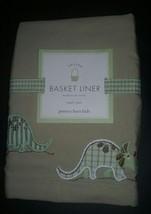 NEW Pottery Barn Kids DINOSAUR Easter BASKET Li... - $9.45
