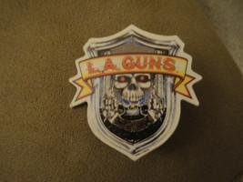 """L.A. Guns Pin ~VINTAGE~ 80's (2"""" tall x 1.75"""" wide) Guns n' Roses/Motley... - $9.75"""
