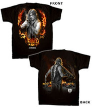 The Walking Dead  Daryl Dixon w/Bazooka Two Sided T-Shirt Size 2XL NEW U... - $19.34