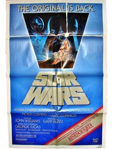 STAR WARS Original 1982 MOVIE POSTER 27x41 R820106 & REVENGE OF THE JEDI... - $224.99