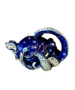 Octopus Teapot Ceramic Blue Decorative Collectable Kitchen Heather Goldm... - $66.49