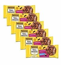 Nestle Toll House Espresso Baking Chip Morsels Bulk Pack of 6 Bags - 9 oz Per Ba