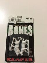 Lions (2) 77341 - Dark Heaven Bones - Reaper MiniaturesD&D Wargames Fel... - $8.40