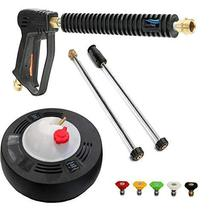 "Auto Express Spray Gun and 15"" Surface Cleaner for Kranzle H357 Professional 300 - $98.95"