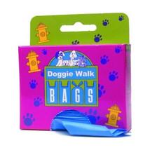 DOGGIE WALK BAGS BABY POWDER 25 BAGS - $10.88