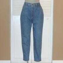 Vintage Lee Denim Pleated High Waist Tapered Mom Jeans~11~ - $35.00