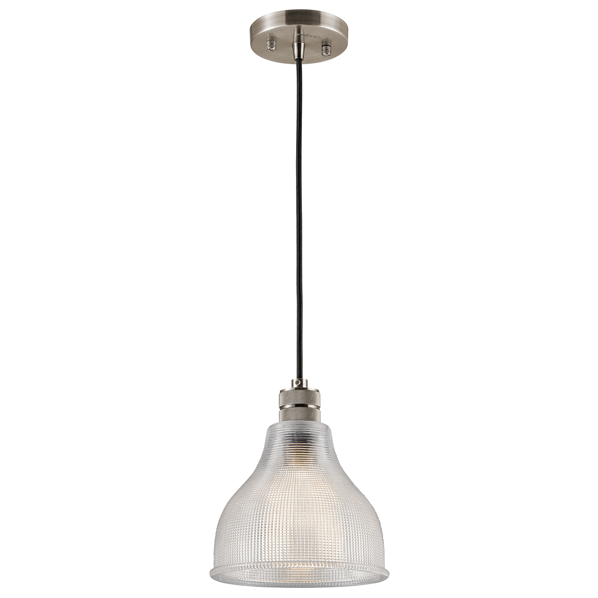 Primary image for Kichler 43551CLP Devin Mini Pendants 8in Classic Pewter GLASS 1-light