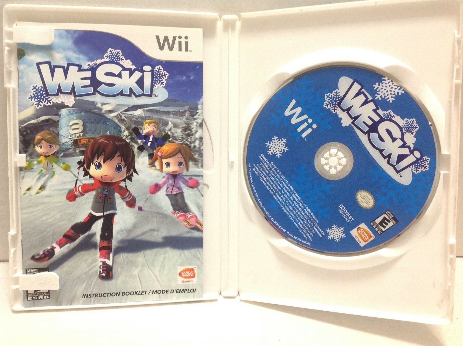 Primary image for We Ski Nintendo Wii  2008 Complete with Manual Tested Works great