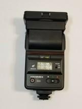 HANIMEX TZ 3600 ELECTRONIC ZOOM DUAL FLASH THYRISTOR WIDE ANGLE 35mm SLR... - $29.39