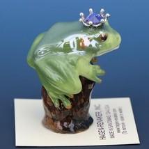 Birthstone Tree Frog Prince June Elexandrite Miniatures by Hagen-Renaker image 2
