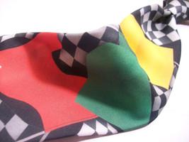 Ralph Marlin Racing Flags Mens Necktie S 8^511b - $19.99