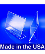 6x4 Acrylic Slanted Photo Booth Frames, Made in USA - $22.50+