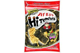 Hi Tempura Tempura Seaweed Spicy Flavor - 1.41oz Pack of 6