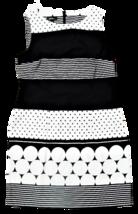 Alxy Dress, Black and White, Sleeveless, Size 14 image 1
