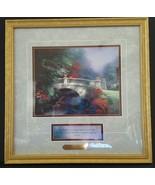 Thomas Kinkade Signed Accent Print BROADWATER BRIDGE with COA  - $88.86
