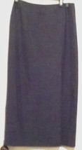 Talbots Full Length Black Wrap Skirt Size 10 - $17.42