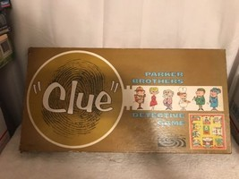"Pre-owned Vintage 1963 Parker Brothers ""Clue"" Detective Board Game See N... - $28.04"