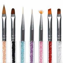 BeautyCat Acrylic Nail Art Brush Nail Art Liner Brushes UV Gel Painting ... - $6.88