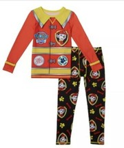 NWT Cuddl Duds Boys Paw Patrol Pajamas Underwear Base Layer 4 5 Pjs Mars... - $17.81