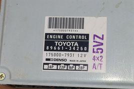 Toyota T100 5VZ 4x2 A/T ECM ECU Engine Control Module 89661-34250 175000-7931 image 3
