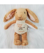 """9"""" Kids Preferred Bunny Rabbit Lovey 96784 Plush Toy Love You To The Moo... - $19.97"""