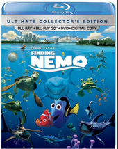 Disney/Pixar Finding Nemo (5 Disc Ultimate Collector's Edition 3D/Blu-ray/DVD)