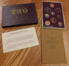 1970 Coinage of Great Britain and Northern Ireland Coin Set - $32.00