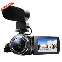 """Full HD Digital Video Camera Camcorder 3.0"""" LCD 1080p 24.0MP WIFI w/  Mi... - $225.44"""
