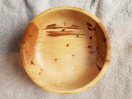 Handmade Hand Turned  Apple Wood Bowl 2, Local PA Woods  - $38.95
