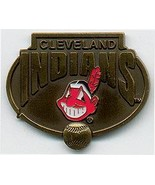 MLB Licensed Pin Cleveland Indians Baseball Pewter Pin