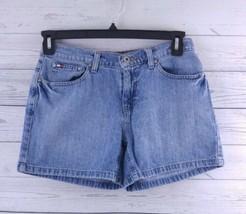 Tommy Hilfiger Women's Denim Boyfriend Shorts Size 6 (c1) - $13.00