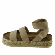 Pierre Dumas Mesa-4 Nude Women's Wedge Sandal 25579 - $38.95