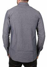 Akomplice VSOP Clean Patrick Long Sleeve Charcoal Grey Button Up Down Shirt NWT image 3