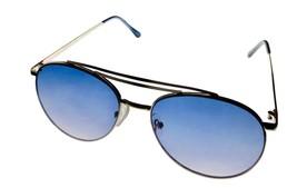Kenneth Cole Reaction Mens Sunglass Shiny Silver Metal Aviator, KC1365. 10B - $17.99