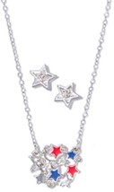 AVON - Star Necklace & Earrings Set - NIB - $5.99