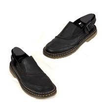 Dr Martin Mens Sandals Black Leather Buckle Size US 10 EU 43 - $67.72