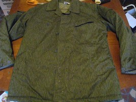 East Germany Camo military DDR quilted warm M field coat NVA 18172P m48 ... - $41.07