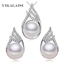 YIKALAISI 925 sterling Silver Natural freshwater Pearl Princess Necklace... - $24.70