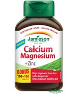 Jamieson Calcium and Magnesium with Zinc - 200 cps - $39.23