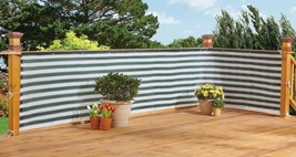 Stylish Outdoor Privacy Screen – Balcony, Deck or Patio Fence Privacy Sc... - $17.41+