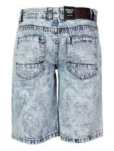 Brooklyn Xpress Men's Relaxed Fit Ripped Distressed Destroyed Jean Denim Shorts image 7
