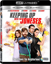 Keeping Up With The Joneses (4K Ultra HD + Blu-ray)