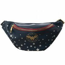 Wonder Woman Navy Fanny Pack Blue - $34.98