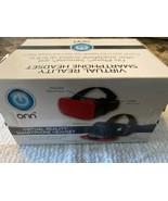 "ONN VIRTUAL REALITY SMARTPHONE HEADSET iPHONE~SAMSUNG UP TP 6"" NIB RED - $8.90"