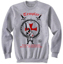 KNIGHT TEMPLAR DO WHAT YOU CAN - NEW COTTON GREY SWEATSHIRT- ALL SIZES - $31.88