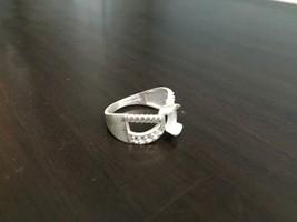 925 Sterling Silver Semi Mount Ring Setting Stone 5 x 7 mm Oval Women Pa... - $8.79+